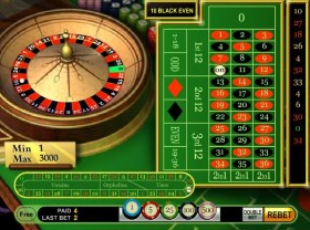 What do the numbers and colors on the roulette board mean?
