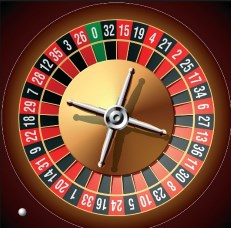 What is a roulette wheel?