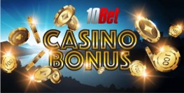 Does 10bet casino offer welcome bonus?