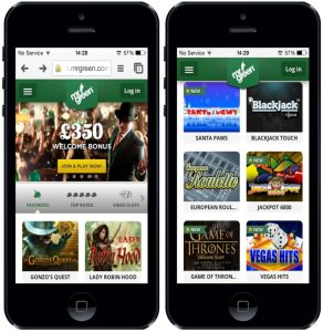 mr green casino review mobile
