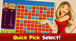 Try the Keno Quick Pick feature!