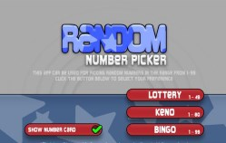 Is random number generator also used in keno?