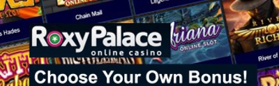 How much is the bonus in Roxy Palace casino?