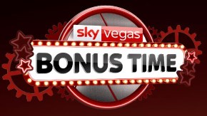 How much is the Sky Vegas welcome bonus?