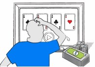 What is a video poker cycle?